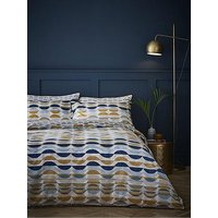 Product photograph showing Content By Terence Conran Eclipse 100 Cotton Duvet Cover Set