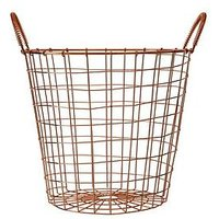Product photograph showing Premier Housewares Vertex Round Basket