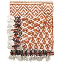 Product photograph showing Cascade Home Aztec Throw