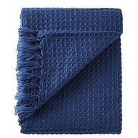 Product photograph showing Cascade Home Waffle Throw