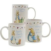 Product photograph showing Peter Rabbit Mugs