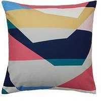 Product photograph showing Velvet Abstract Cushion