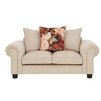 Product photograph showing Belgravia Fabric 2 Seater Scatter Back Sofa