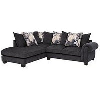 Product photograph showing Belgravia Fabric Left Hand Scatter Back Corner Group Sofa