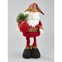 Product photograph showing Santa Claus With Present Christmas Room Decoration