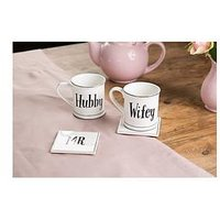 Product photograph showing Sass Belle Hubby Mug