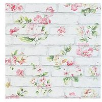 Product photograph showing Arthouse Shabby Chic Brick Wallpaper
