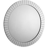 Product photograph showing Julian Bowen Sonata Round Wall Mirror