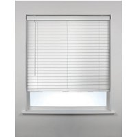 Product photograph showing Faux Wood Venetian Blind
