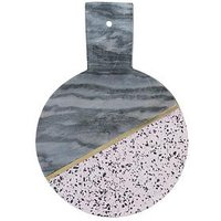 Product photograph showing Typhoon Elements Terrazzo And Marble Serving Board