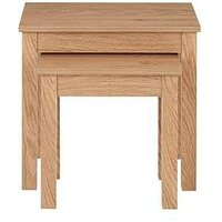 image-Camberley Nest Of Tables- Oak