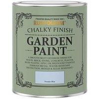 Product photograph showing Rust-oleum Powder Blue Garden Furniture Paint - 750ml