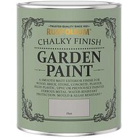 Product photograph showing Rust-oleum Flint Chalky Finish Garden Furniture Paint - 750ml