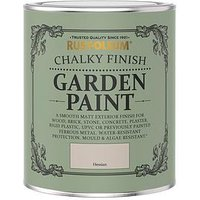 Product photograph showing Rust-oleum Chalky Finish 750 Ml Garden Furniture Paint Ndash Hessian