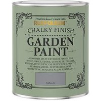 Product photograph showing Rust-oleum Anthracite Garden Furniture Paint - 750ml