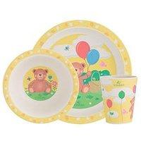 Product photograph showing Viners Bertie 3 Piece Kids Dinner Set