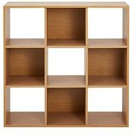 Product photograph showing Home Essentials - Oslo 3 X 3 Storage Unit