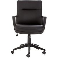 Product photograph showing Pluto Office Chair - Black