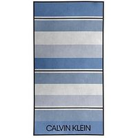 image-Calvin Klein Calvin Klien Stripe Beach Towel