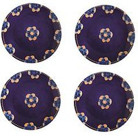 Product photograph showing Maxwell Williams Maxwell Williams Majolica Dinner Plates Set Of 4