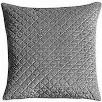 Product photograph showing Gallery Diamond Quilted Cushion