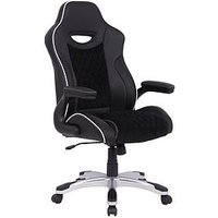 Product photograph showing Alphason Silverstone Office Gaming Chair