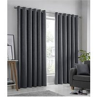 Product photograph showing Fusion Strata Dim Out Curtains 90x72