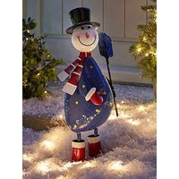 Product photograph showing Three Kings Polka Frosty Indoor Outdoor Christmas Decoration