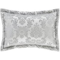 Product photograph showing Catherine Lansfield Damask Jacquard Pillow Sham Pair