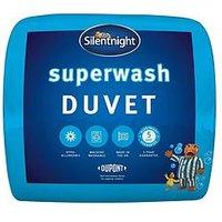 Product photograph showing Silentnight Superwash 10 5 Tog Duvet