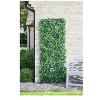 Product photograph showing Smart Solar Lilac Bloom Trellis 180 X 60cm
