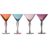 Product photograph showing Premier Housewares Aurora Cocktail Glasses Set Of 4