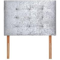 Product photograph showing New Reign Crushed Velvet Headboard