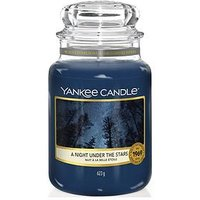 Product photograph showing Yankee Candle Campfire Nights Collection Ndash A Night Under The Stars Classic Large Jar Candle