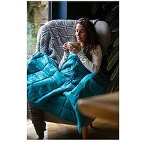Product photograph showing Rest Easy Sleep Better Weighted Blanket 5kg 135x200cm