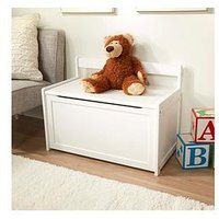 image-Melissa & Doug Wooden Toy Chest White