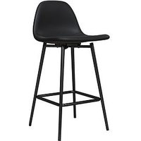 Product photograph showing Calvin Bar Stool- Black