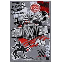 Product photograph showing Wwe World Heavyweight Champion Fleece Blanket