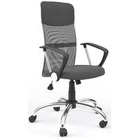 Product photograph showing Alphason Perth Office Chair- Grey