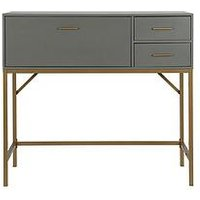 Product photograph showing Cosmoliving By Cosmopolitan Lennon Storage Console Table