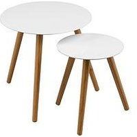 image-Premier Housewares Nostra Nest Of 2 Round Tables