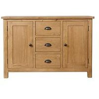 Product photograph showing K-interiors Shelton Ready Assembled Large Sideboard