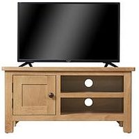 Product photograph showing K-interiors Shelton Ready Assembled Tv Unit - Fits Up To 42 Inch Tv