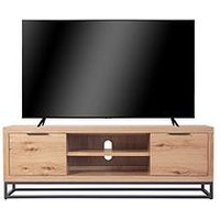 Product photograph showing K-interiors Waverton Large Tv Unit - Fits Up To 52 Inch Tv