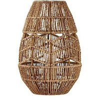 Product photograph showing Wilder Jute Vessel Table Lamp