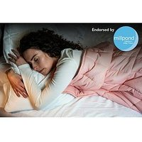 Product photograph showing Rest Easy Sleep Better Weighted Blanket 3kg - 90x120cm
