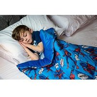 Product photograph showing Rest Easy Sleep Better Ultimate Spider-man Weighted Blanket Ndash 2 Kg Ndash 90 X 120 Cm