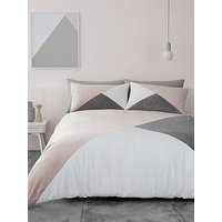 Product photograph showing Catherine Lansfield Milena Velvet Duvet Cover Set