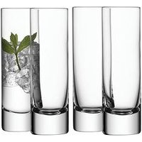 Product photograph showing Lsa International Bar Handmade Long Drink Glasses Ndash Set Of 4