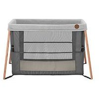 Product photograph showing Maxi-cosi Iris Compact Travel Cot